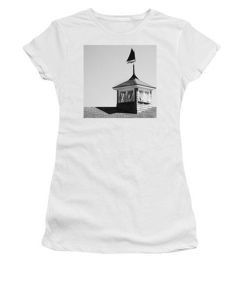 Nantucket Weather Vane Women's T-Shirt (Athletic Fit)