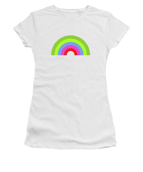 Rainbow Women's T-Shirt (Athletic Fit)