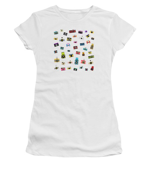 Retro Camera Women's T-Shirt (Athletic Fit)