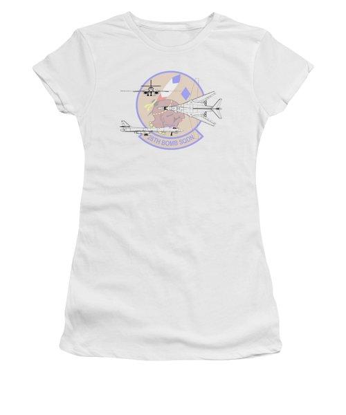 Women's T-Shirt (Junior Cut) featuring the digital art Rockwell B-1b Lancer by Arthur Eggers