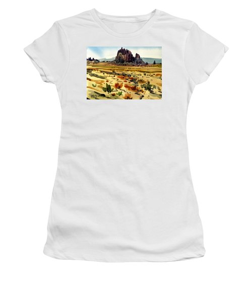 Shiprock Women's T-Shirt (Athletic Fit)