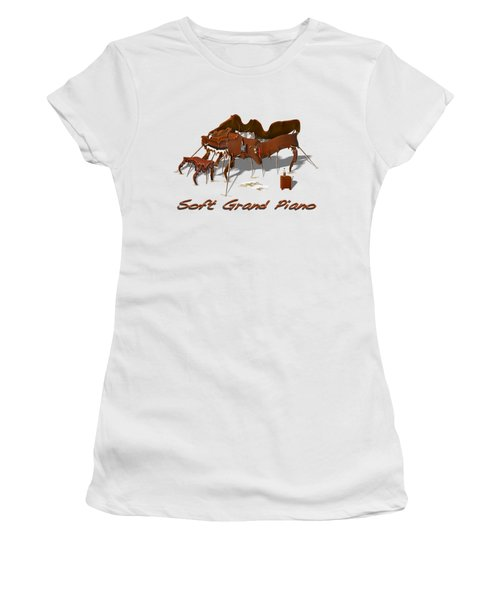 Soft Grand Piano  Women's T-Shirt