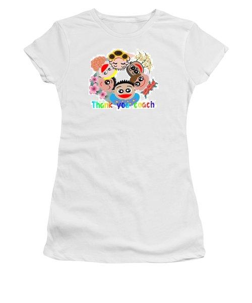 Tkd No1 Women's T-Shirt (Athletic Fit)
