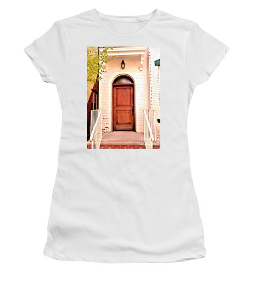 Women's T-Shirt (Junior Cut) featuring the photograph Welcome Home by Becky Lupe
