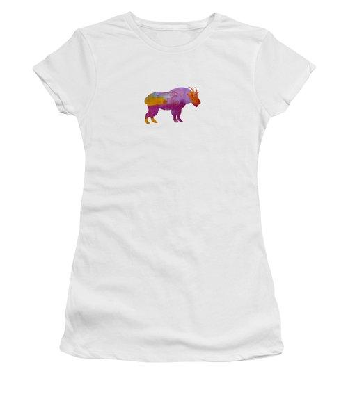 Wild Goat Women's T-Shirt (Junior Cut)