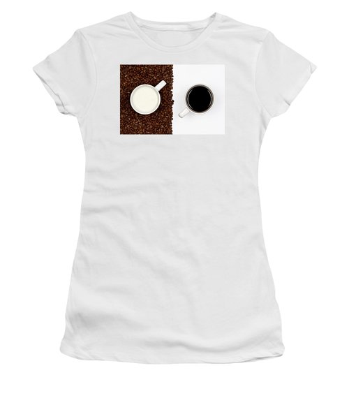 Yin And Yang Women's T-Shirt (Athletic Fit)