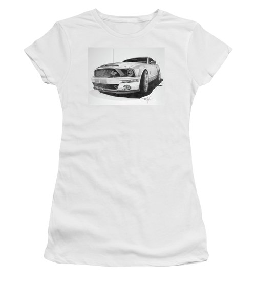 2008 Shelby Cobra 40th Anniversary 1968-2008 Women's T-Shirt (Athletic Fit)