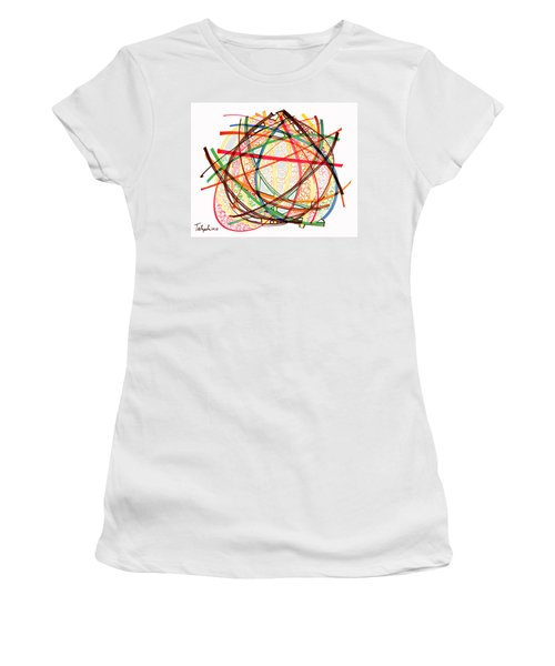 2010 Abstract Drawing Fifteen Women's T-Shirt (Athletic Fit)