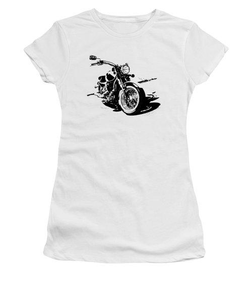 2013 Kawasaki Vulcan Classic Graphic Women's T-Shirt