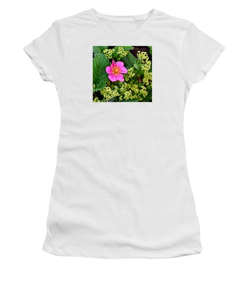 2015 Summer's Eve At The Garden Lipstick Strawberry Women's T-Shirt