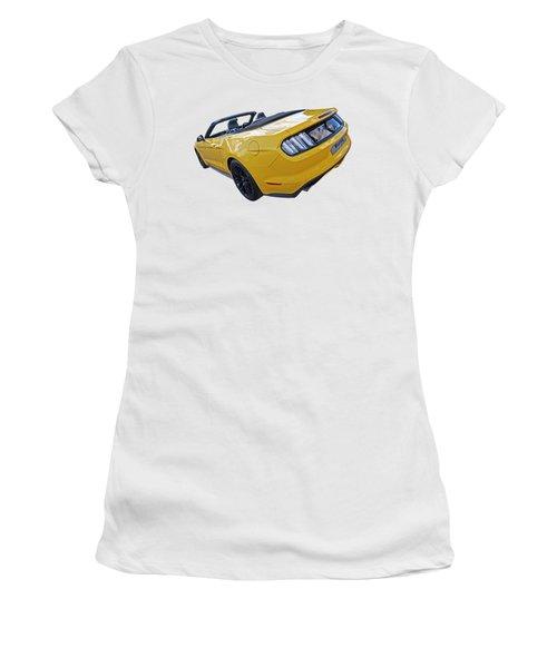 2016 Rhd Mustang Gt Women's T-Shirt