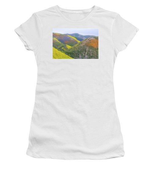 2017 California Super Bloom Women's T-Shirt (Junior Cut) by Marc Crumpler