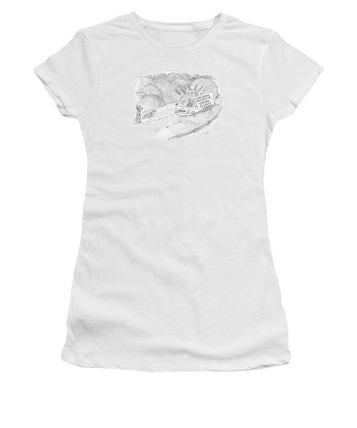 24 Hour Roadside Tuba Service Women's T-Shirt