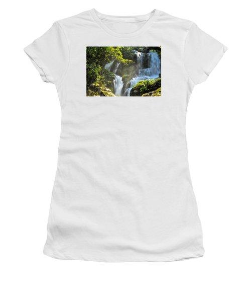 Waterfall Scenery Women's T-Shirt