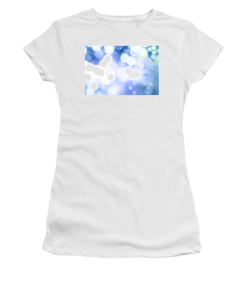 Abstract Circles 45 Women's T-Shirt (Athletic Fit)