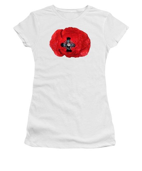 Poppy Flower Women's T-Shirt