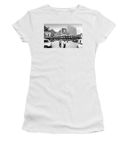 Cms, Odunlami Street Women's T-Shirt (Athletic Fit)