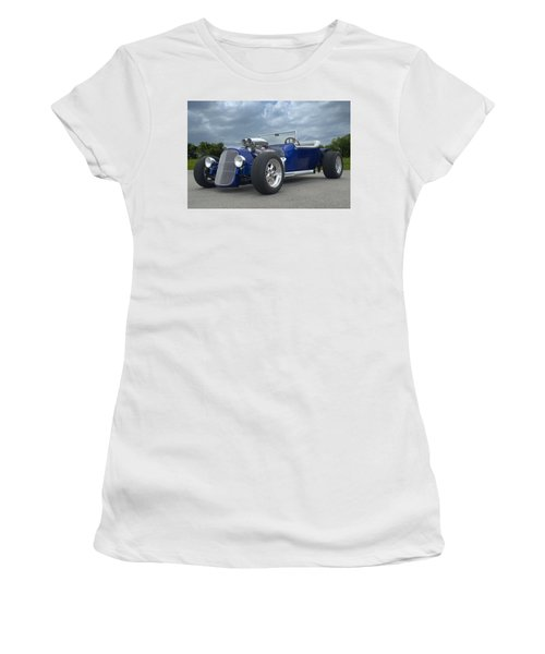 1923 Ford Bucket T Hot Rod Women's T-Shirt (Junior Cut) by Tim McCullough