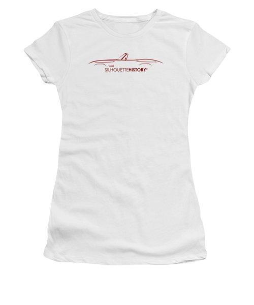 American Sports Cabrio Silhouettehistory Women's T-Shirt
