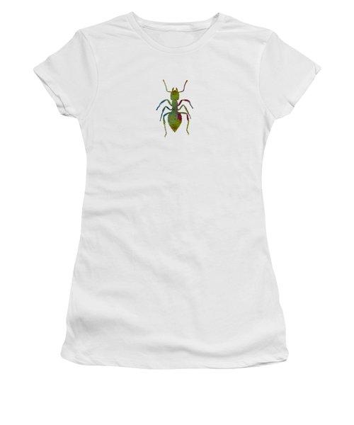 Ant Women's T-Shirt (Junior Cut) by Mordax Furittus
