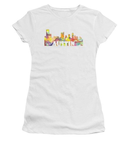 Austin Texas Skyline Women's T-Shirt