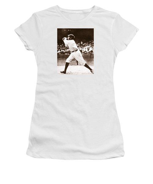 Babe Ruth Women's T-Shirt (Junior Cut) by American School