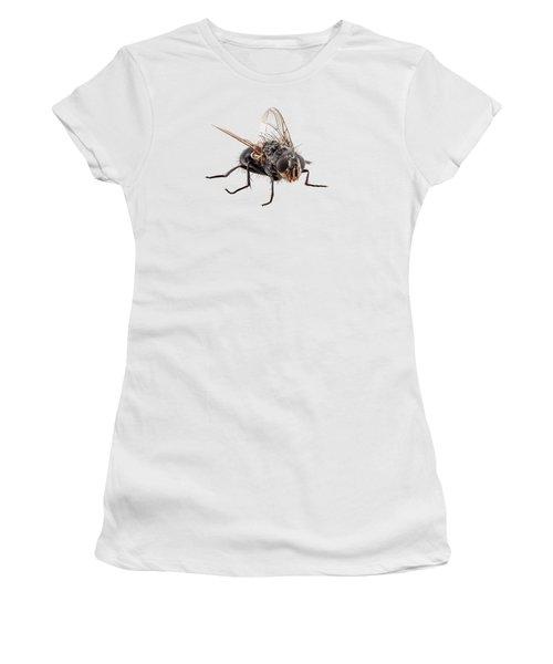Blue Bottle Fly Species Calliphora Vomitoria Women's T-Shirt