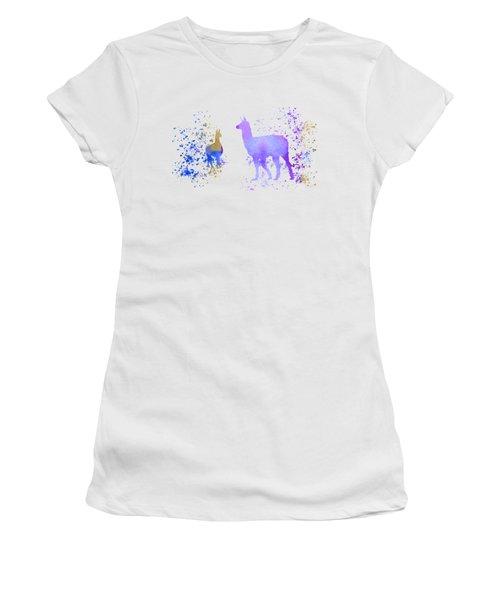 Llamas Women's T-Shirt (Athletic Fit)