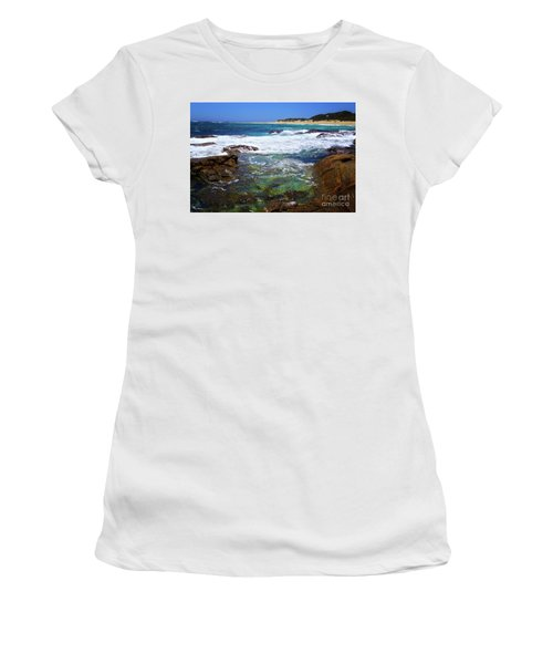 Mouth Of Margaret River Beach II Women's T-Shirt (Athletic Fit)