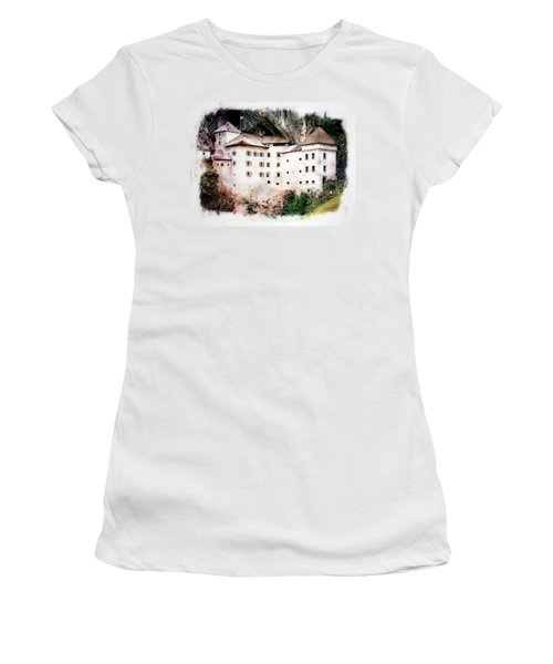 Predjama Castle, Predjama Slovenia Women's T-Shirt (Athletic Fit)
