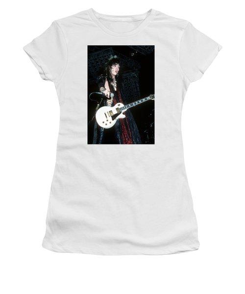 Tom Keifer Of Cinderella Women's T-Shirt