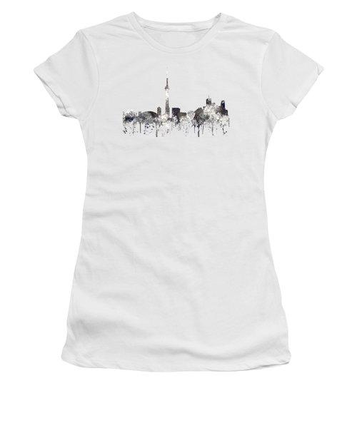 Toronto Ont.skyline Women's T-Shirt (Junior Cut) by Marlene Watson