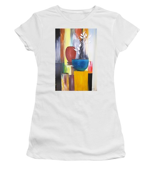 3 Vases Women's T-Shirt (Athletic Fit)