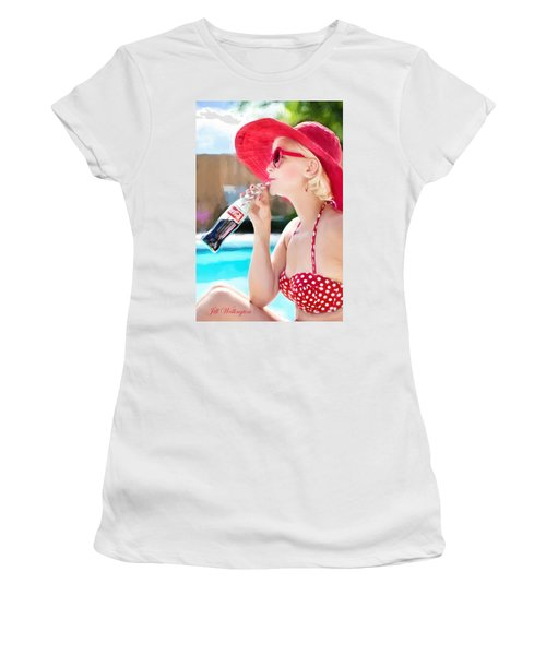 Vintage Val Poolside Women's T-Shirt