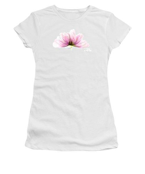 X-ray Of Peony Flower Women's T-Shirt