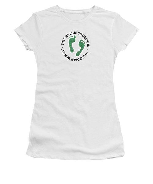 301st Rescue Squadron Women's T-Shirt (Junior Cut) by Julio Lopez