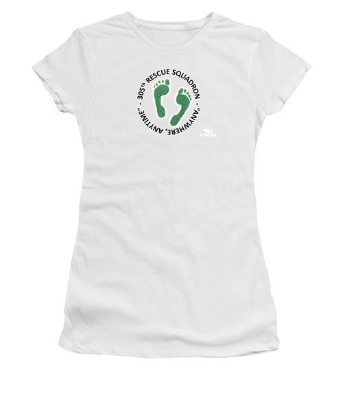 305th Rescue Squadron Women's T-Shirt (Athletic Fit)