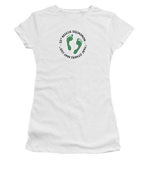 33rd Rescue Squadron Women's T-Shirt (Athletic Fit)