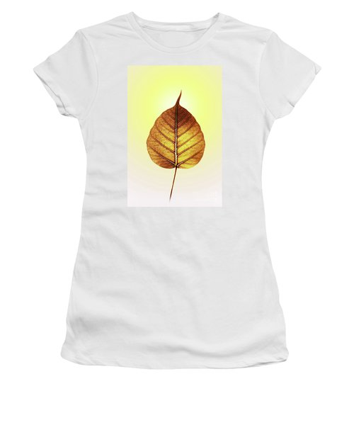 Pho Or Bodhi Women's T-Shirt (Junior Cut) by Atiketta Sangasaeng