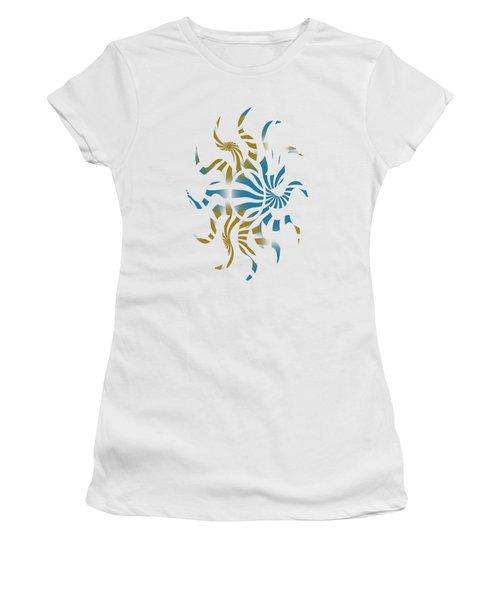 3d Spiral Art Women's T-Shirt