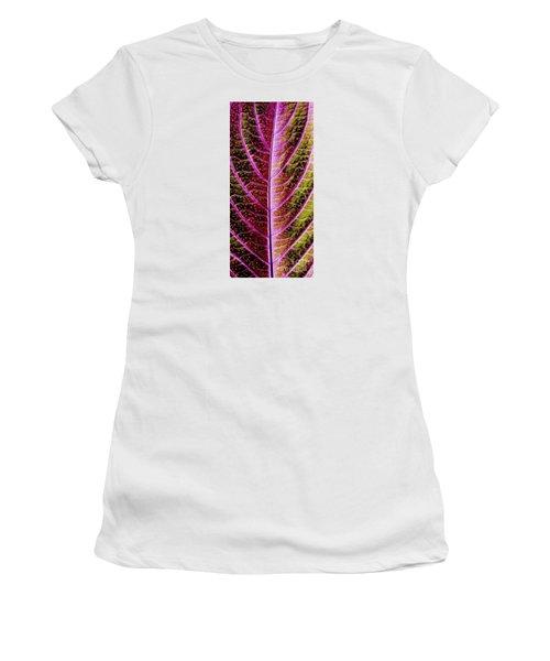 Abstract Women's T-Shirt (Junior Cut) by Tony Cordoza