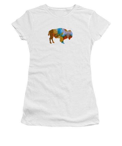 Bison Women's T-Shirt (Athletic Fit)