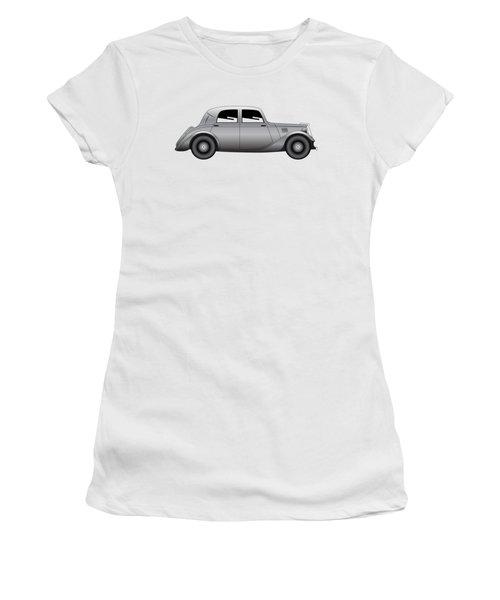 Coupe - Vintage Model Of Car Women's T-Shirt (Junior Cut) by Michal Boubin