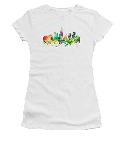 Indiana Indianapolis Skyline Women's T-Shirt