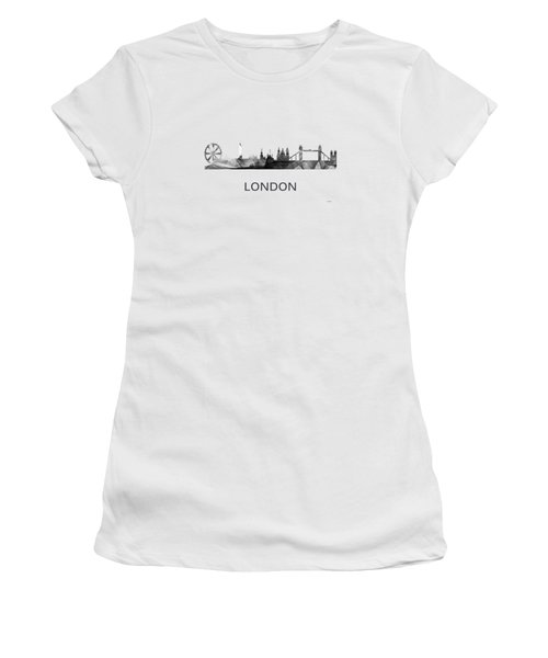 London England Skyline Women's T-Shirt (Athletic Fit)