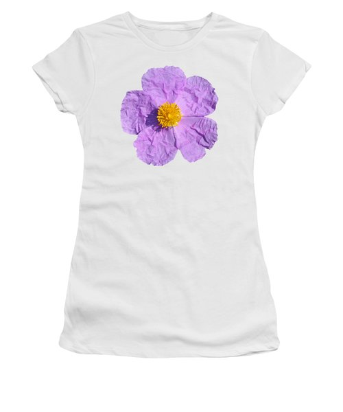 Rockrose Flower Women's T-Shirt (Athletic Fit)