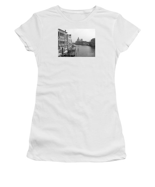 The Grand Canal In Venice Women's T-Shirt