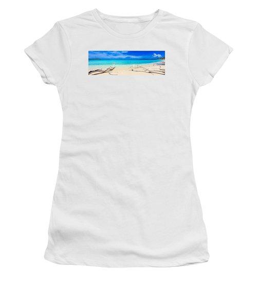 Tropical Beach Malcapuya Women's T-Shirt
