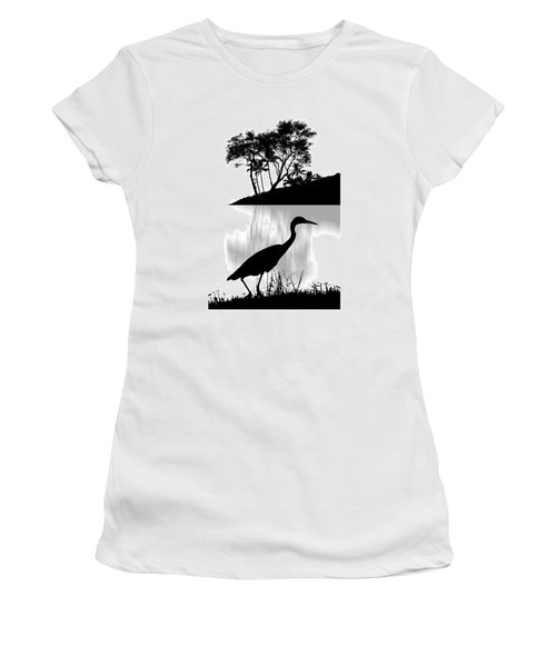 Women's T-Shirt (Athletic Fit) featuring the photograph 4474 by Peter Holme III