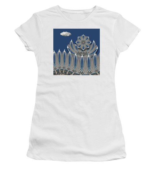 Women's T-Shirt (Athletic Fit) featuring the photograph 4475 by Peter Holme III